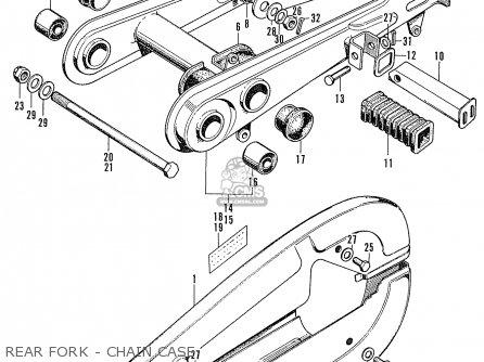 Honda Cb100 Super Sport K2 (asia Honda Type) parts list