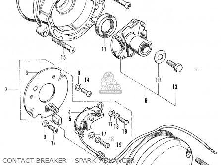 Honda Cb100 Super Sport K2 (german Type) parts list