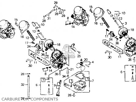 Honda Cb1000 1994 (r) Usa California parts list