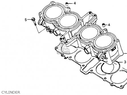 Honda CB1000 1994 (R) USA CALIFORNIA parts lists and