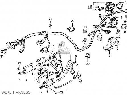 Honda Cb1000 1995 (s) Usa California parts list