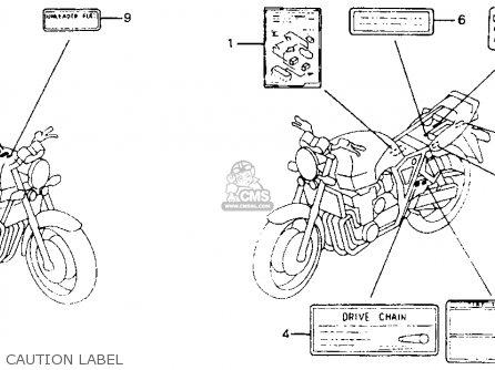 Honda Cb1000 1995 Usa Parts List Partsmanual Partsfiche