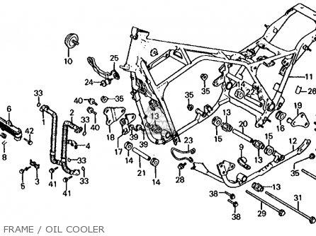 Honda CB1000C 1000 CUSTOM 1983 (D) USA parts lists and