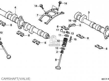 Honda Cb1000f 1993 (p) Northern Europe / Kph parts list