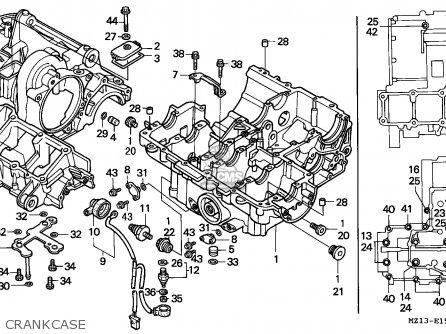 Honda Cb1000f 1995 (s) Australia / Kph parts list