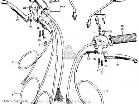 Honda CB100K0 SUPER SPORT1970 USA parts lists and schematics