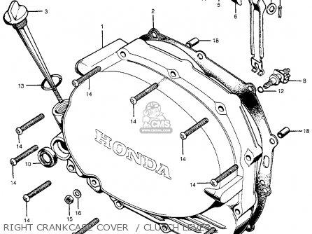 Honda Cb100k1 Super Sport 1971 Usa parts list partsmanual