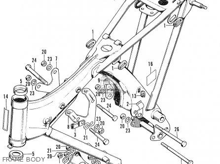 Honda Cb100k2 Super Sport 1972 Usa parts list partsmanual