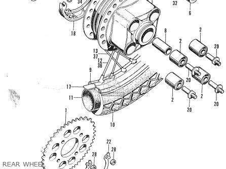 Honda Cb100k2 Super Sport Asia Honda parts list