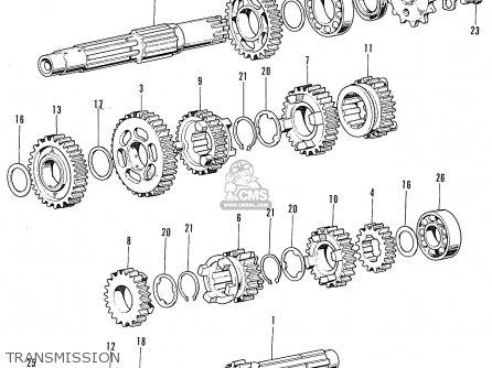 Honda Cb100k2 Super Sport General Export Type I parts list
