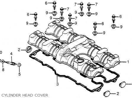 Honda CB1100F SUPER SPORT 1983 (D) USA parts lists and