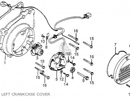 Honda Cb1100f Super Sport 1983 (d) Usa parts list