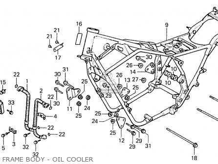 Honda Cb1100rbi Australia (13ma3b24) parts list