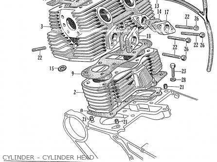 Honda CB125 CB93 GENERAL EXPORT parts lists and schematics