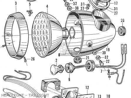 Honda CB125 CB93 GENERAL EXPORT parts lists and schematics