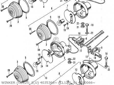 cb125 wiring diagram
