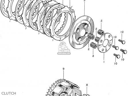 Honda Cb125k2 General Export parts list partsmanual partsfiche