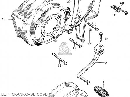Honda Cb125k2 General Export parts list partsmanual partsfiche