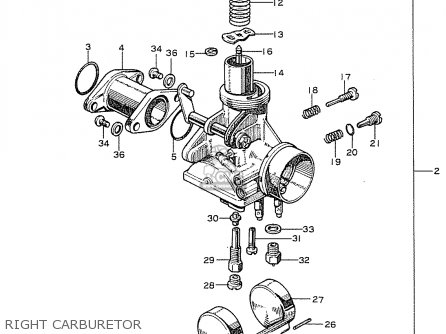 Honda CB125K2 GENERAL EXPORT parts lists and schematics