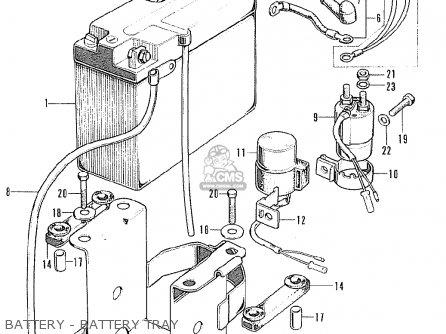 Honda CB125K5 EUROPEAN DIRECT SALES parts lists and schematics
