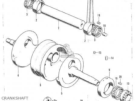 Honda CB125K5 FRANCE parts lists and schematics