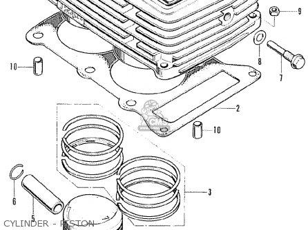 Honda Cb125k5 General Export / Kph parts list partsmanual