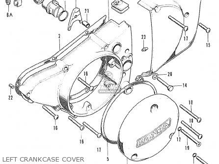 Honda CB125K5 GERMANY parts lists and schematics