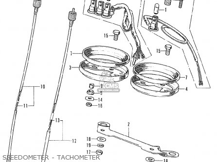 Honda CB125K5 GERMANY parts lists and schematics