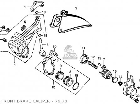 Honda CB125S 1978 USA parts lists and schematics