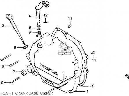 Honda CB125S 1985 (F) USA parts lists and schematics