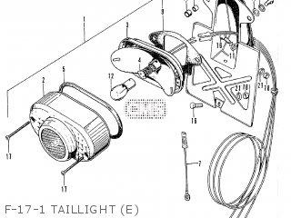 Honda CB125S GENERAL EXPORT parts lists and schematics