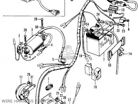 Honda Xl70 Wiring Harness Honda Xl185s Honda Xl 75 Honda Cl90honda