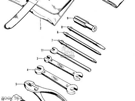 Honda Cb125s S2 1975 Usa parts list partsmanual partsfiche