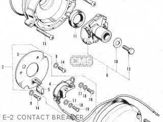 Honda CB125S1 parts lists and schematics