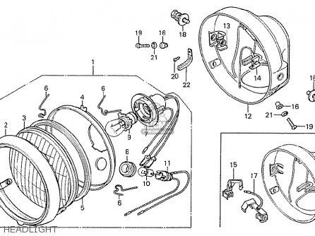 Honda CB125T AUSTRALIA parts lists and schematics