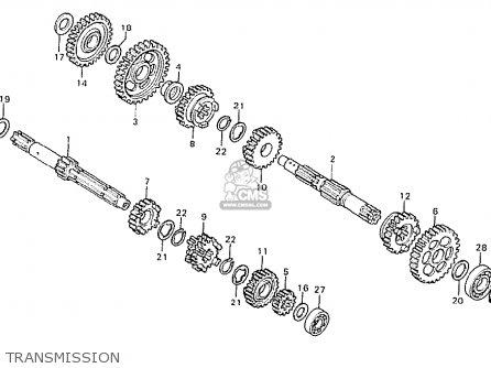 Honda Cb125t Australia parts list partsmanual partsfiche