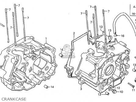 Honda Cb125t Belgium parts list partsmanual partsfiche