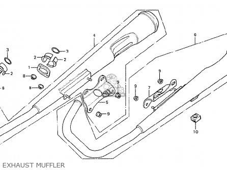 Honda CB125T FRANCE parts lists and schematics