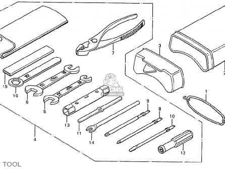 Honda CB125T FRANCE parts lists and schematics
