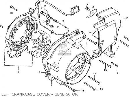 Honda Cb125t Germany Full Power Type 1 parts list