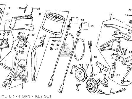 Honda CB125T2 AUSTRALIA parts lists and schematics