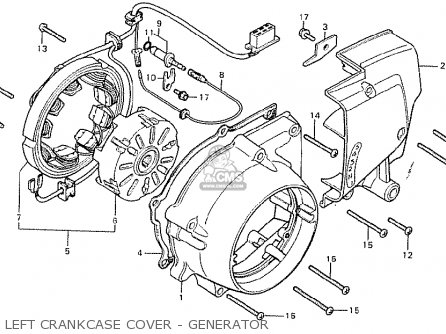 Honda Cb125t2 France parts list partsmanual partsfiche