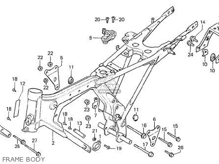 Honda Cb125t2 South Africa parts list partsmanual partsfiche