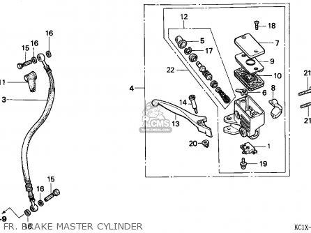 Honda Cb125td Superdream 1982 (c) England parts list