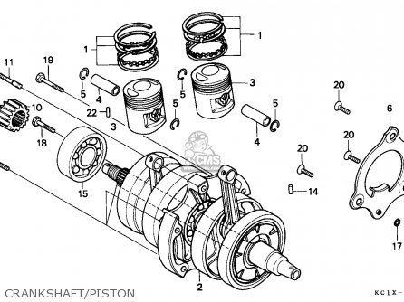 Honda CB125TD SUPERDREAM 1982 (C) IRELAND parts lists and