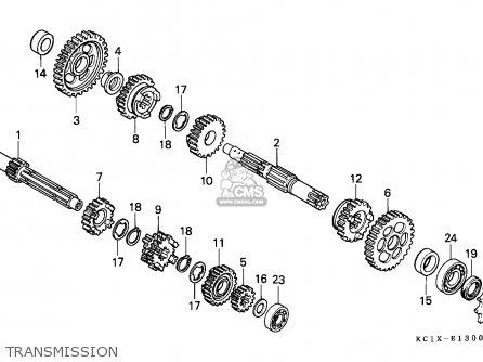 Honda CB125TD SUPERDREAM 1982 (C) SWEDEN parts lists and