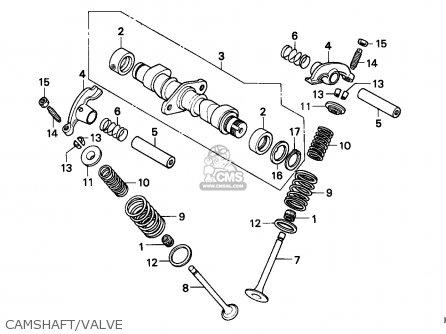 Honda Cb125td Superdream 1982 France parts list