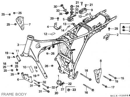 Honda CB125TD SUPERDREAM 1984 (E) ENGLAND parts lists and
