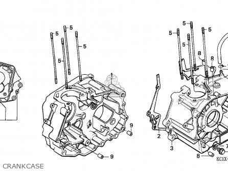 Honda Cb125td Superdream 1984 (e) France parts list