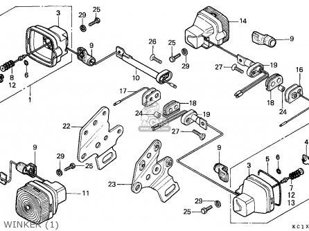 Honda Cb 125 Engine Honda CB175 Wiring Diagram ~ Odicis